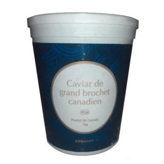 Икра щуки весовая Канада в кубоконтейнере 500 грамм.