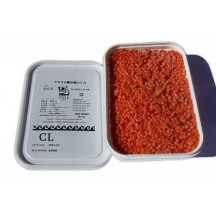 Икра кета солено - мороженая icicle - айсикл (cl - 3 сорт) 1 кг.