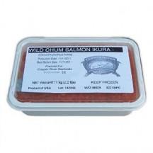 Икра горбуши солено - мороженная river copper - ривер купер (3 сорт) 1 кг.