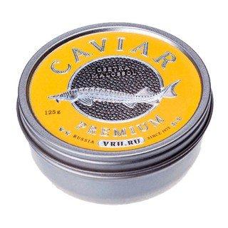 Черная  икра дикого вылова стерляди imperial 125 грамм