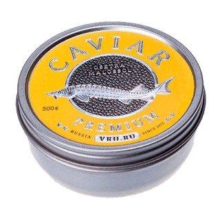 Черная  икра дикого вылова стерляди imperial  500 грамм