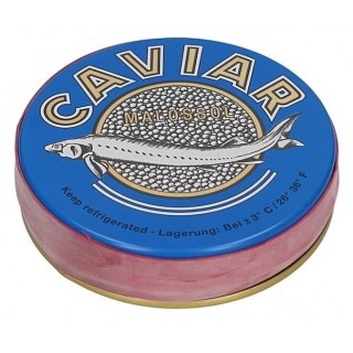 Черная икра осетра CAVIAR MALOSSOL 100 гр