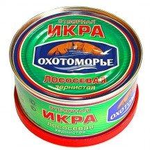Красная икра кеты Охотоморье (130 грамм)